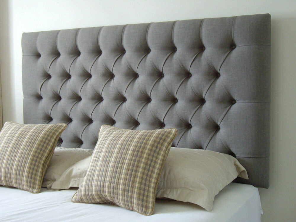 top quality stylish headboard in crushed velvet fabric all sizes and