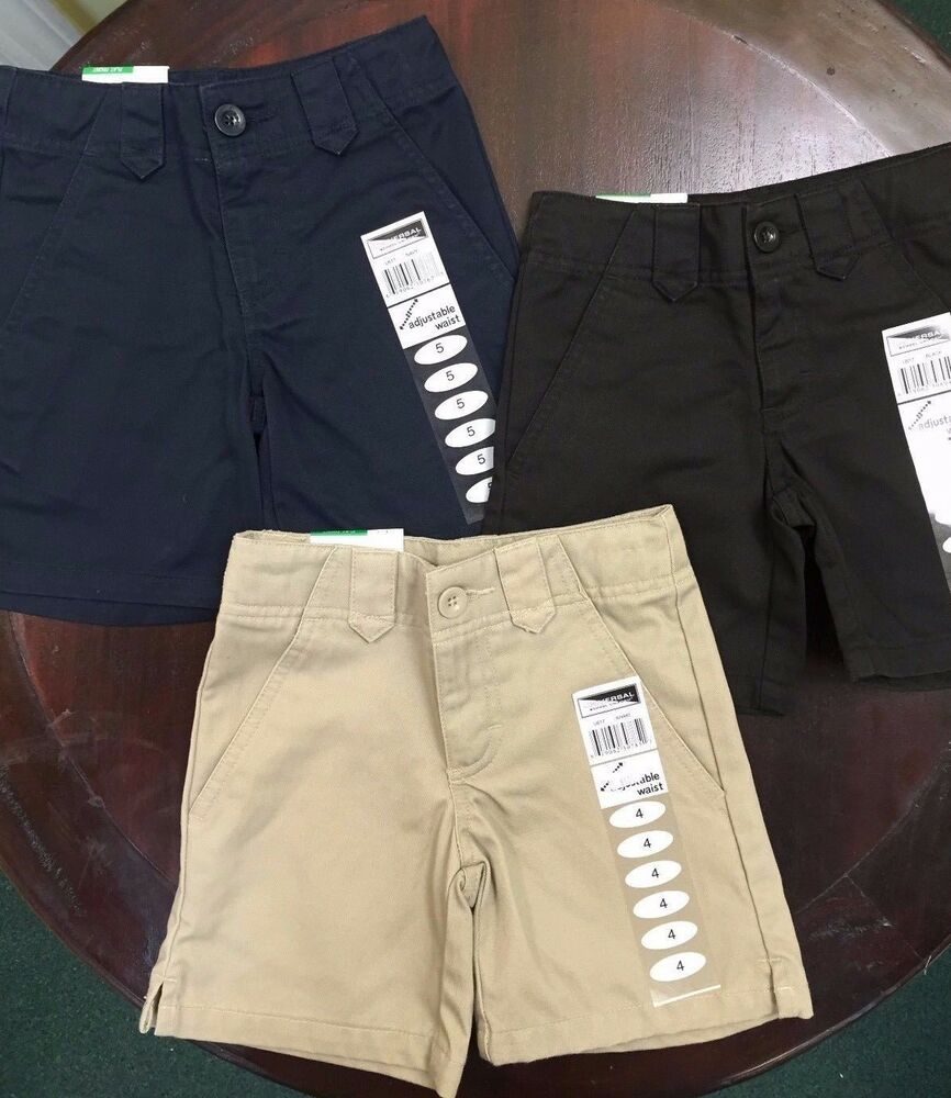 Our large selection of boys pull-on shorts with Wrinkle No More fabric in sizes 2T to 20 for school uniforms. Shop at French Toast today!