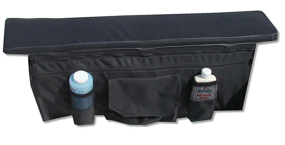 Saturn Cushion Seat With Underseat Storage Bag For