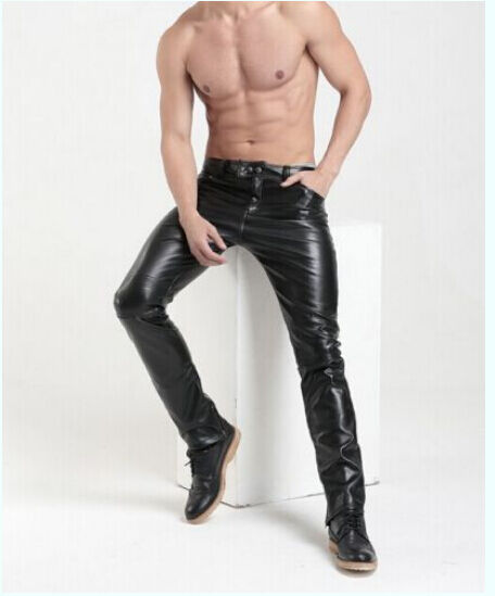 Online shopping for popular & hot Mens Skinny Leather Pants from Men's Clothing & Accessories, Skinny Pants, Leather Pants, Casual Pants and more related Mens Skinny Leather Pants like leather pants mens skinny, skinny leather pants mens, skinny men leather pants, men leather pants skinny.