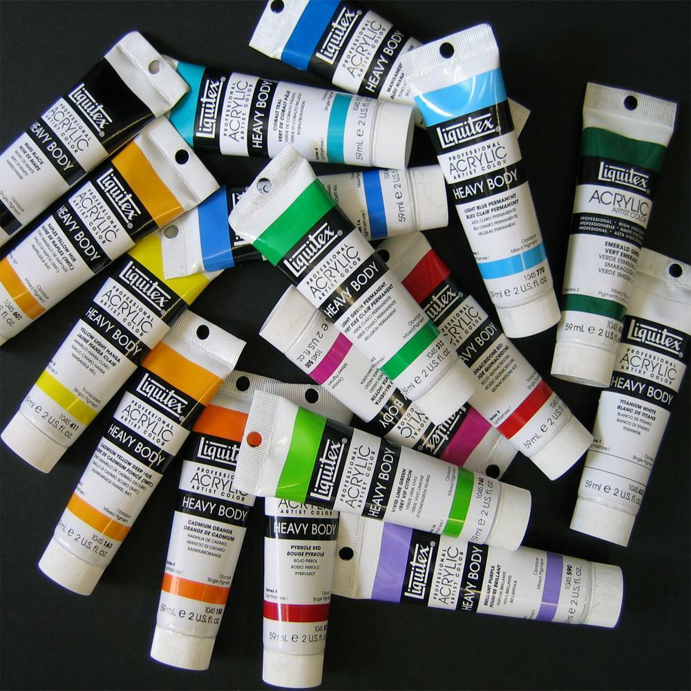 liquitex heavy body prof artist acrylic paint 2 oz tubes choose. Black Bedroom Furniture Sets. Home Design Ideas