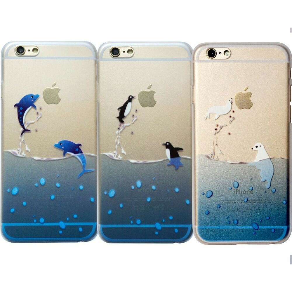cute cases for iphone 5s penguin dolphin polar animals clear for iphone 5 16849
