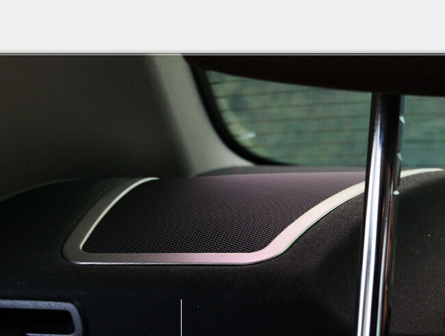 for bmw 5 series f10 rear interior speaker cover frame trim stainless 2011 2014 ebay. Black Bedroom Furniture Sets. Home Design Ideas