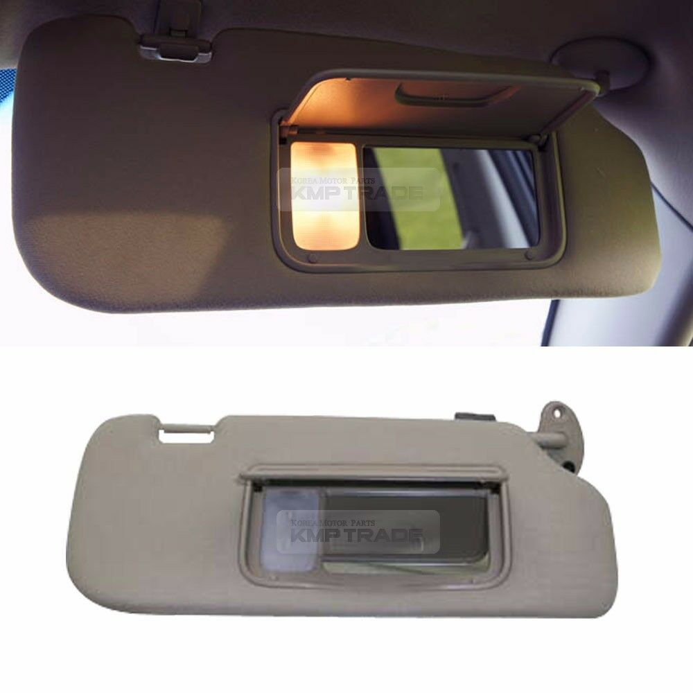 oem interior hand sun visor shade rh gray for chevrolet 2006 2011 captiva ebay. Black Bedroom Furniture Sets. Home Design Ideas