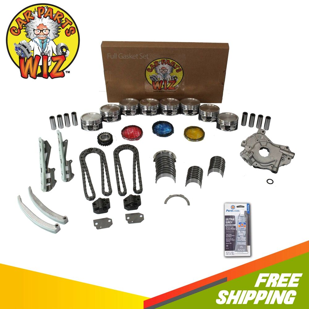 Ford F 150 2000 Remanufactured Complete: Engine Rebuild Kit Fits 01 Ford Expedition E-150 F-150 4