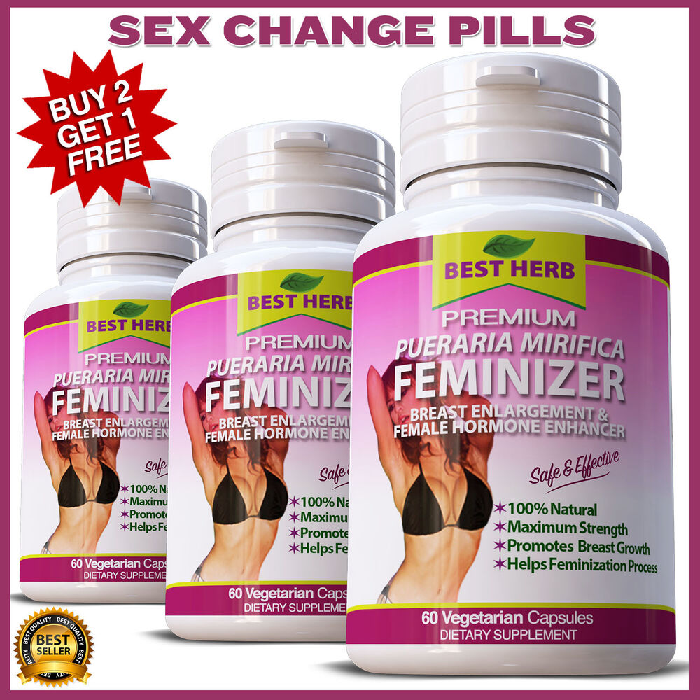Pueraria Feminizer Sex Change Pills Female Hormone -6388