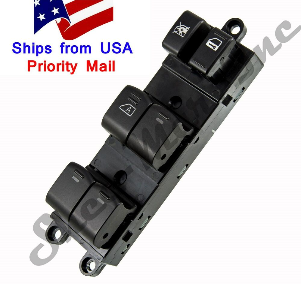 Power window switch master power window switches for for 2000 nissan quest power window switch