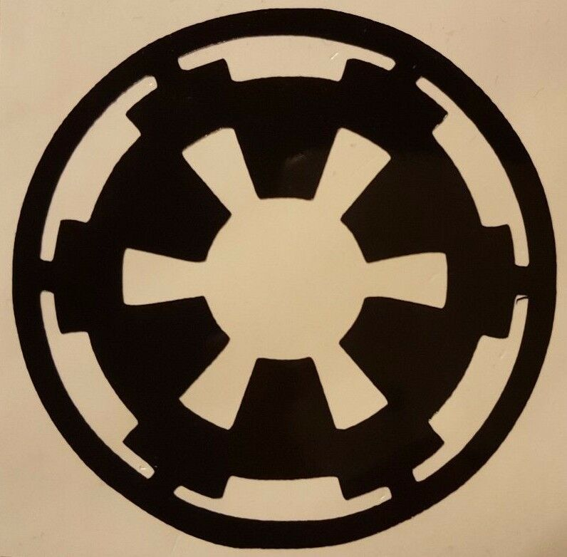 empire logo star wars vinyl sticker decal home laptop. Black Bedroom Furniture Sets. Home Design Ideas