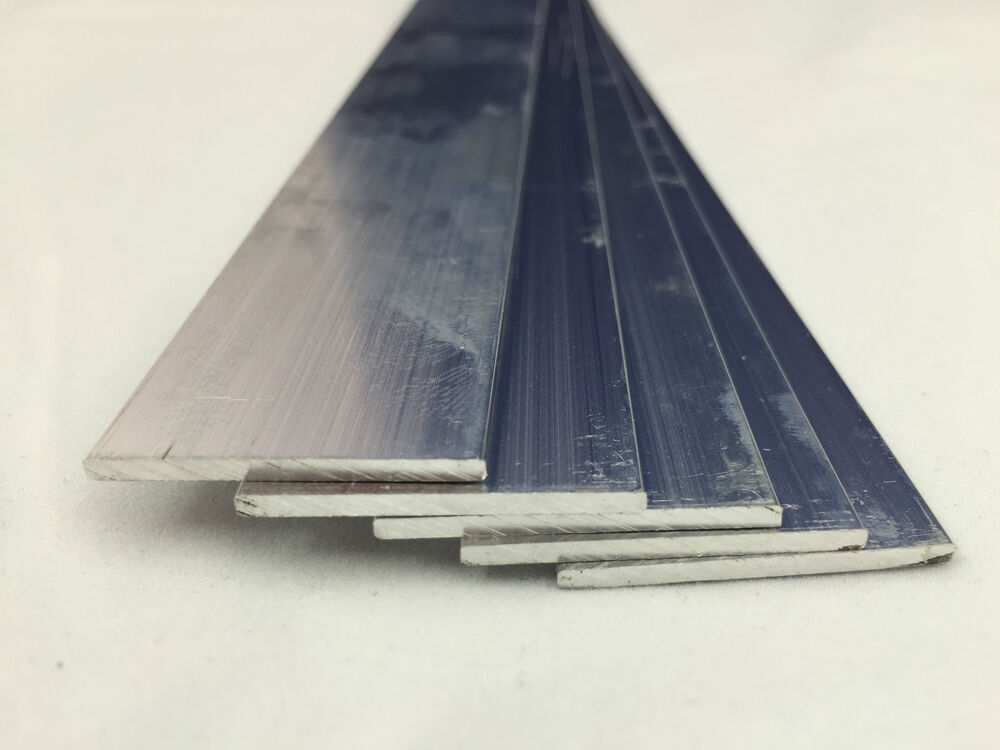 Aluminium flat bar various sizes mm long ebay