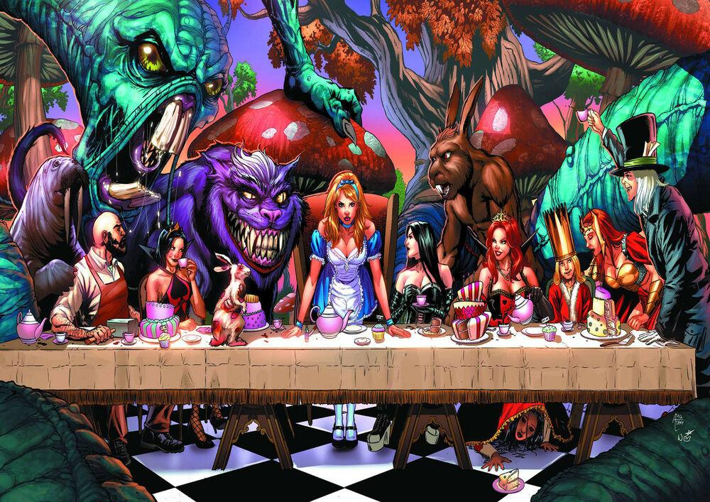 Grimm Fairy Tales Cheshire Cat