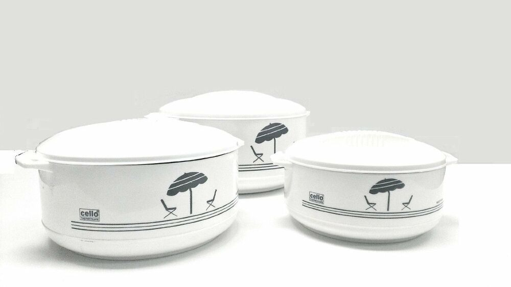 Insulated Food Warmers ~ Cello super piece hot pot insulated casserole pack