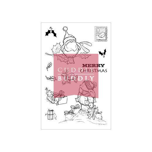 Cuddly Buddly Clear Stamps Toby Tumble Amp Robins Cbs0002