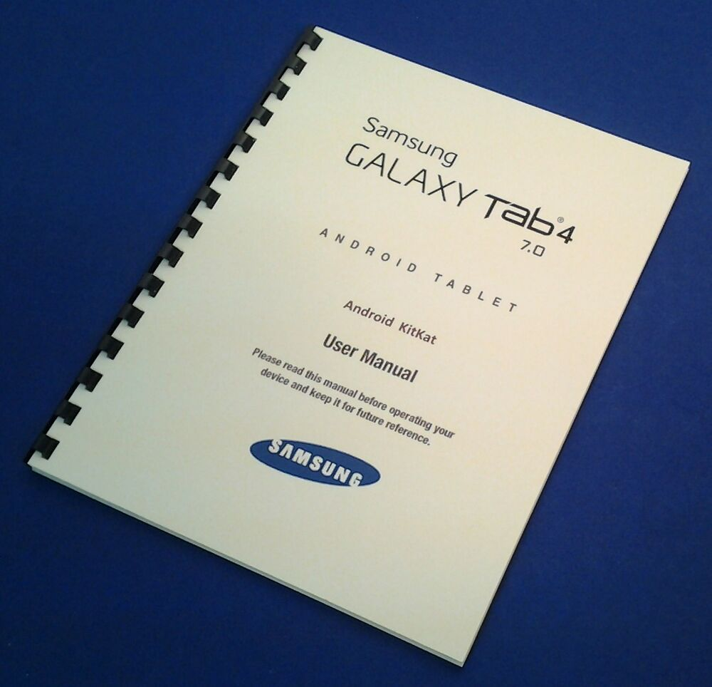 Samsung Galaxy Tablet Tab 4 7 0 Wi Manual Guide
