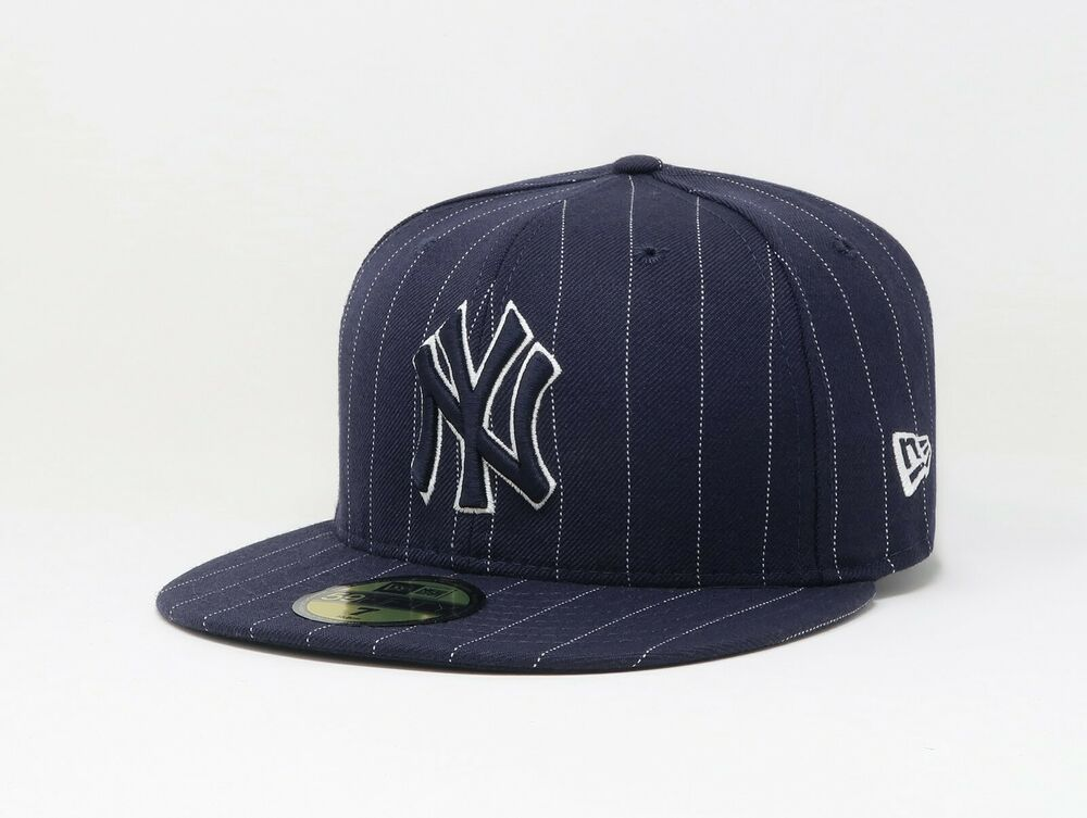New Era 59fifty Men Size Cap New York Yankees Fitted Hat