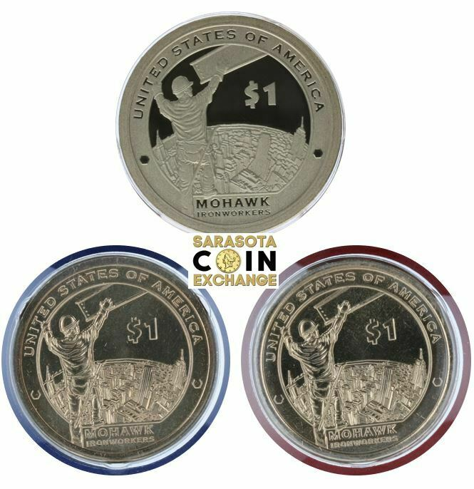 Sacagawea Dollar And P/&D Gems 2015-S $1 Native American DC Proof