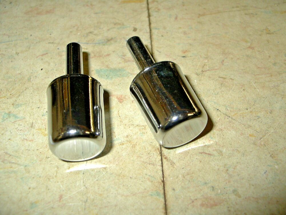 Nors pair fomoco ford 1950 1951 outside door handle button for 1950 door handles