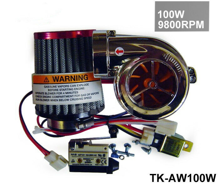 Universal Electric Turbo Review: Electric Turbo/suralimentation Kit/Universal Fit Ride Sur