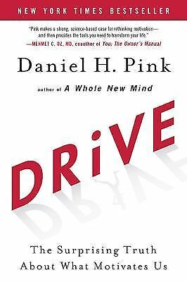 what motivates us Drive: the surprising truth about what motivates us by daniel h pink is one of those books that makes you wonder why we are having so much trouble getting over the command-and-control/face- time.