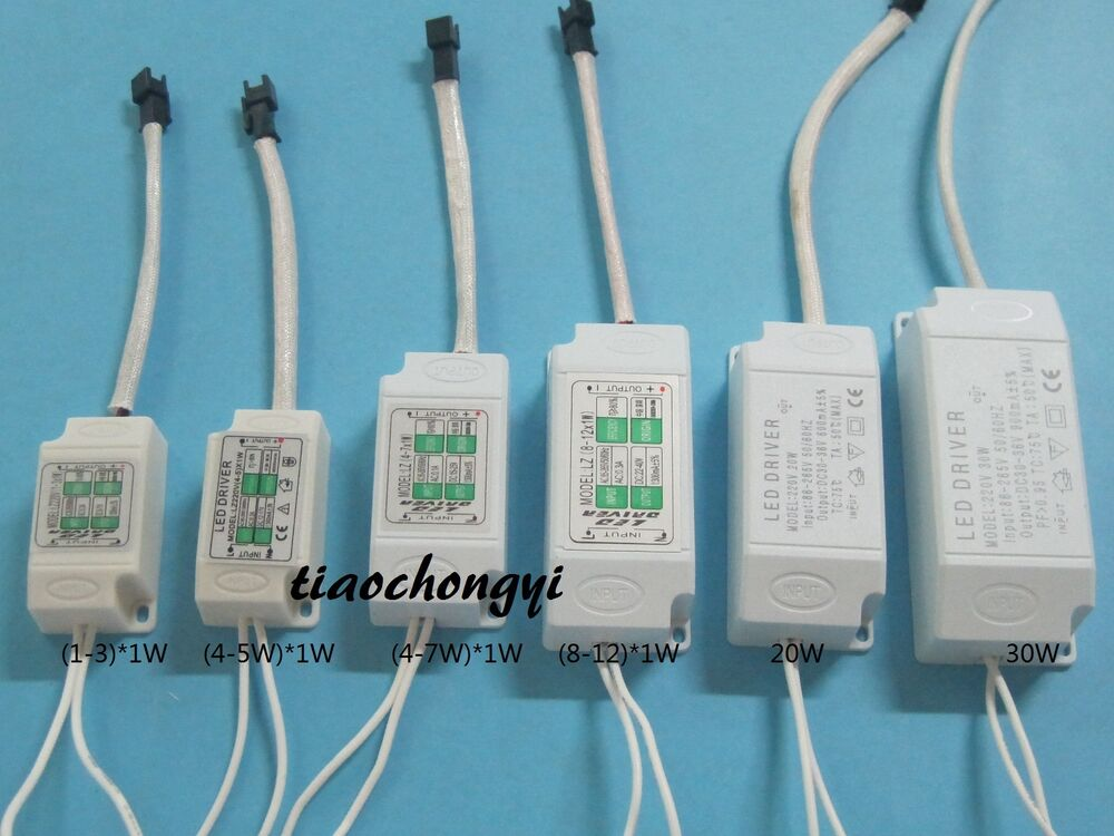 Power Supply Driver For LED Light Lamp Bulb 300mA 1-3W 5W
