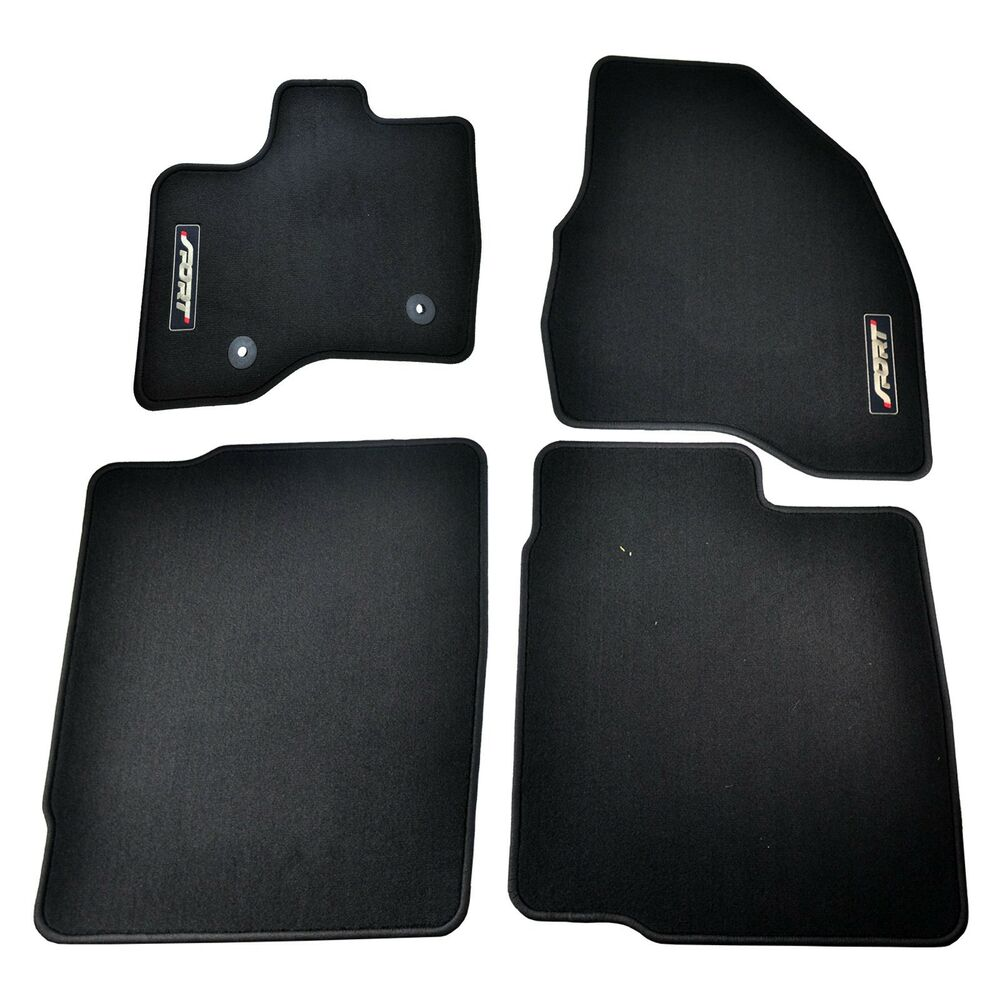 Black Ford Explorer >> OEM NEW 2013-2015 Ford Explorer SPORT Charcoal Black Carpet Floor Mats Ecoboost | eBay
