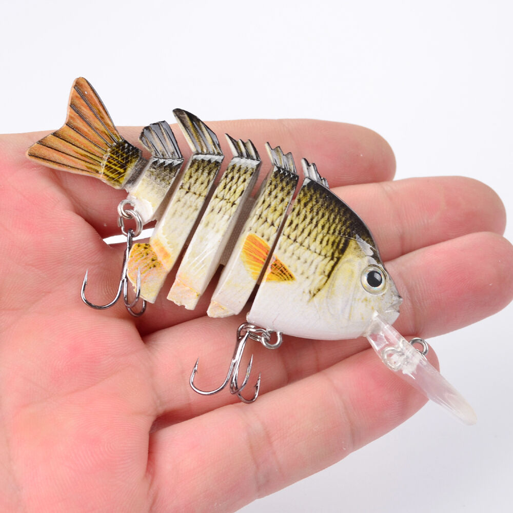 New 1pcs multi jointed bass plastic fishing lures bait for New fishing lures