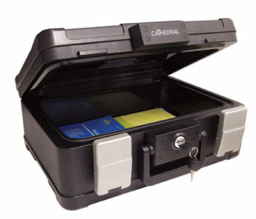 Fireproof Amp Waterproof Deed Security Box Safe Accepts A4