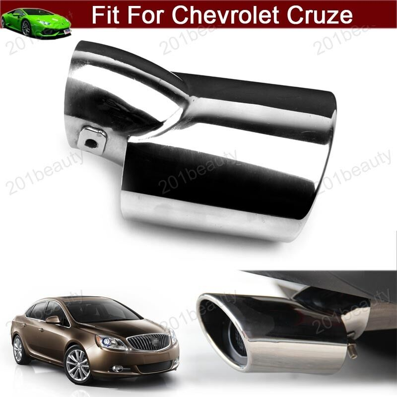 Stainless Steel Exhaust Muffler Tail Pipe Tip Tailpipe For