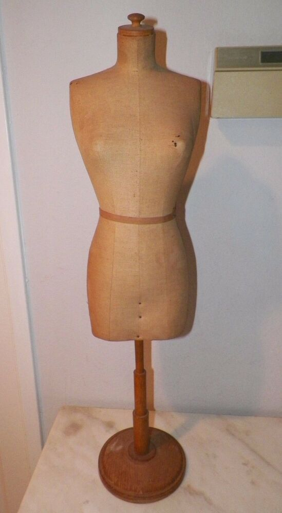 Vintage French Stockman Paris Table Top Small Dress Form
