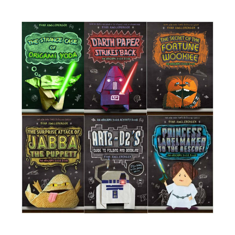 entire origami yoda series mostly hardcover ebay