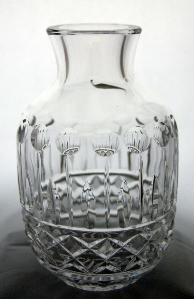 Shannon Crystal Designs Of Ireland 24 Lead Crystal Vase Made In