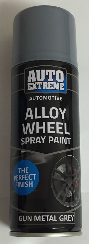 gun metal grey satin alloy wheel spray can restorer car. Black Bedroom Furniture Sets. Home Design Ideas