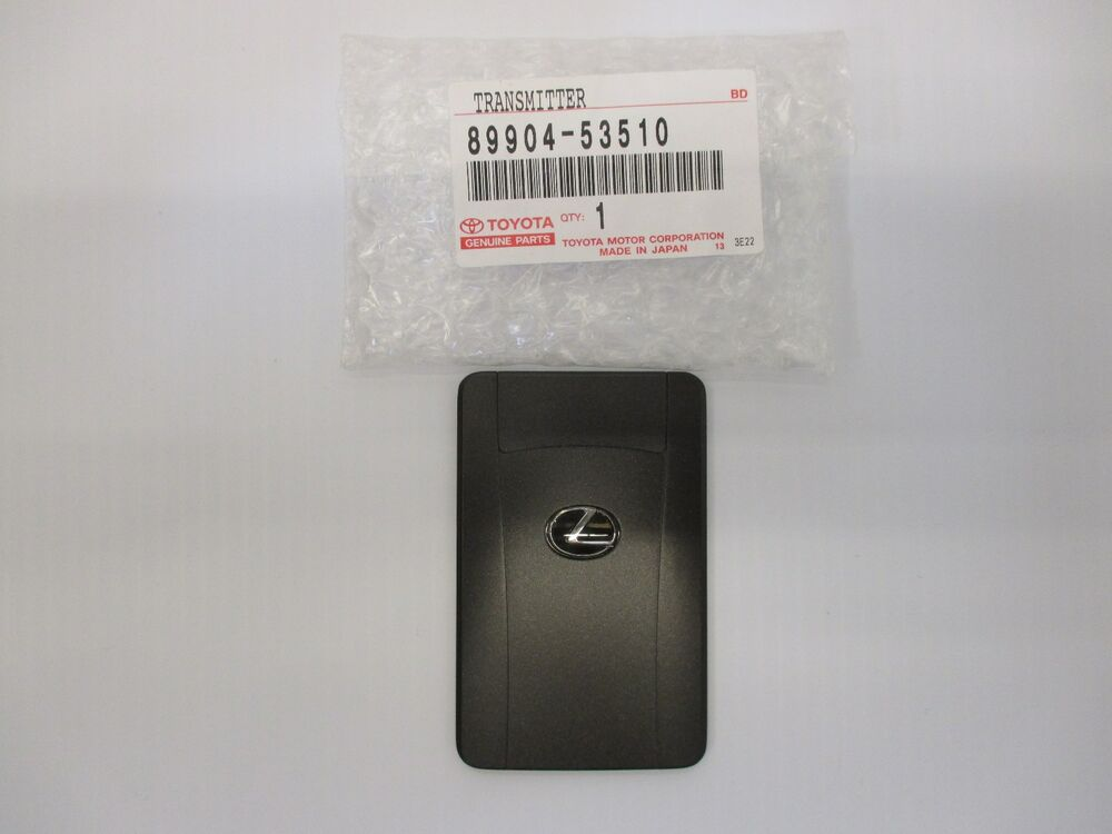 Lexus Oem Factory Credit Card Wallet Smart Key 2013 2014