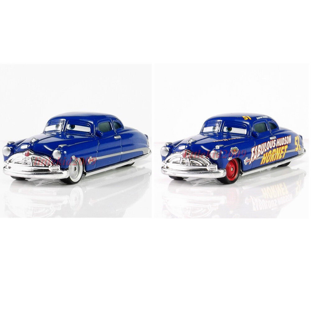 disney pixar cars diecast metal lot 2 doc hudson. Black Bedroom Furniture Sets. Home Design Ideas