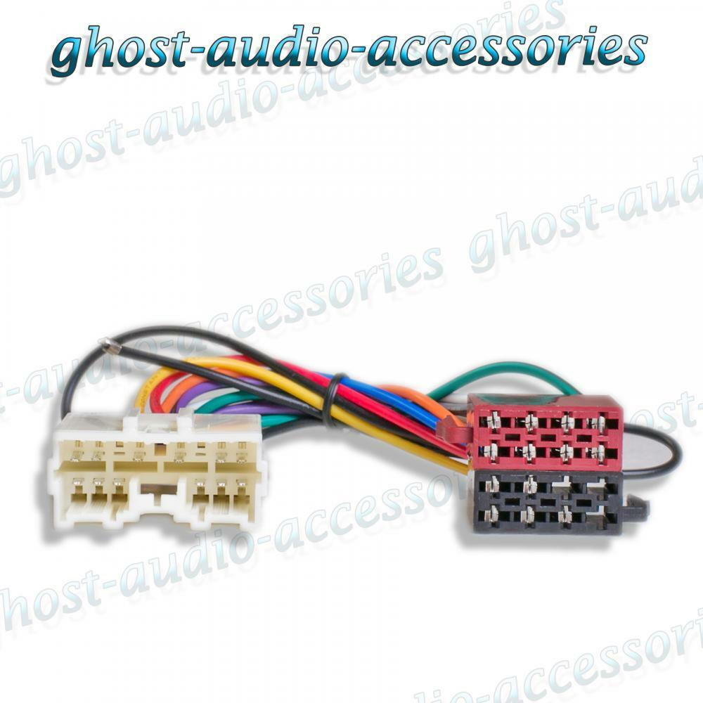 Mitsubishi L200 96 Iso Radio Stereo Harness Adapter Wiring Connector Ebay Headphone Jack That