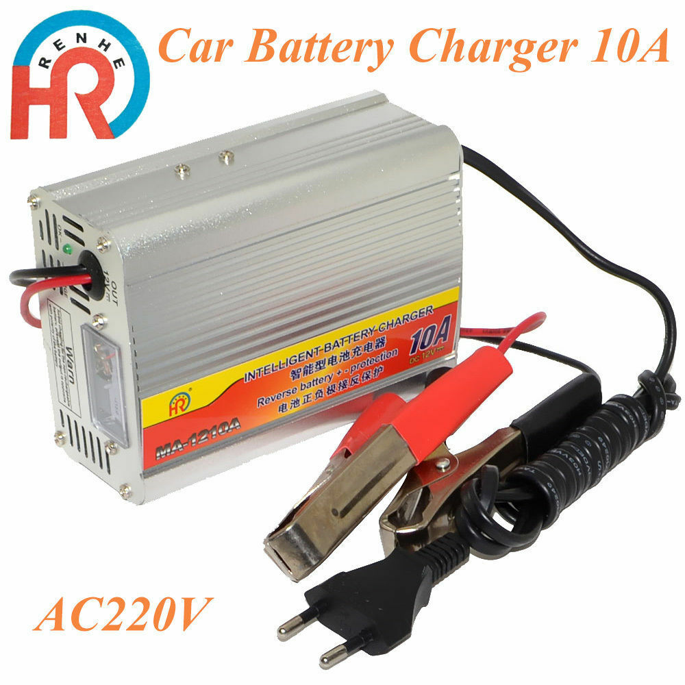 12v 10a car battery charger motorcycle battery charger lead acid charger 220v in ebay. Black Bedroom Furniture Sets. Home Design Ideas