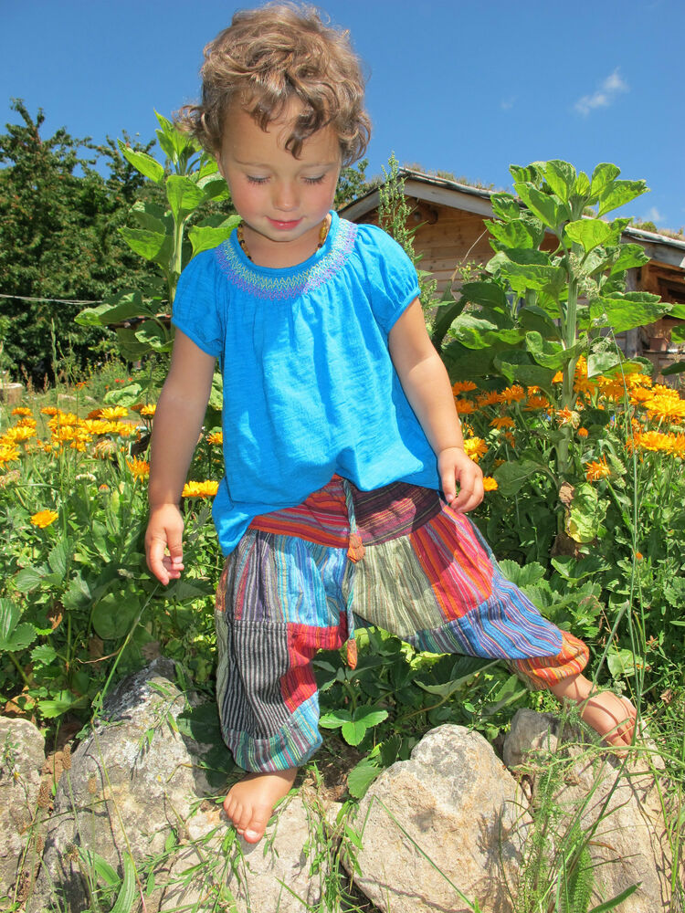 Childrens Kids Harem Trousers Alibaba Hippie clothes Baby