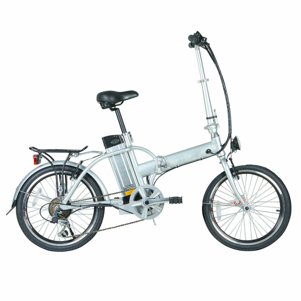 fenetic stowaway folding electric bike e bike compact with. Black Bedroom Furniture Sets. Home Design Ideas