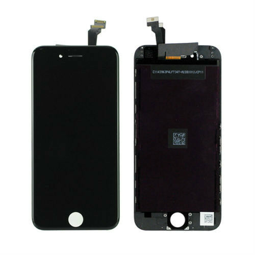 iphone 4 black screen black apple iphone 6 4 7 front lcd display touch screen 14370