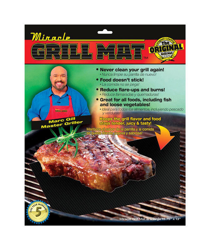 Miracle grill mat as seen on tv in l