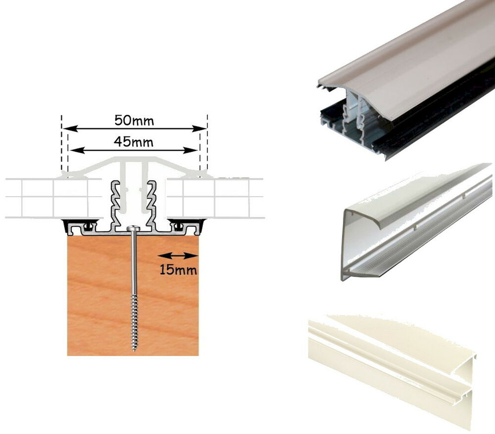 Timber Support Polycarbonate Roof Bars Fit 10mm 16mm