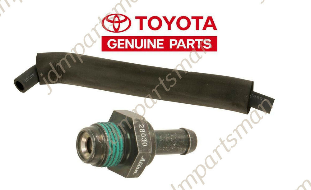 genuine pcv valve hose kit 06 10 toyota camry corolla solara matrix 2 4l ebay. Black Bedroom Furniture Sets. Home Design Ideas