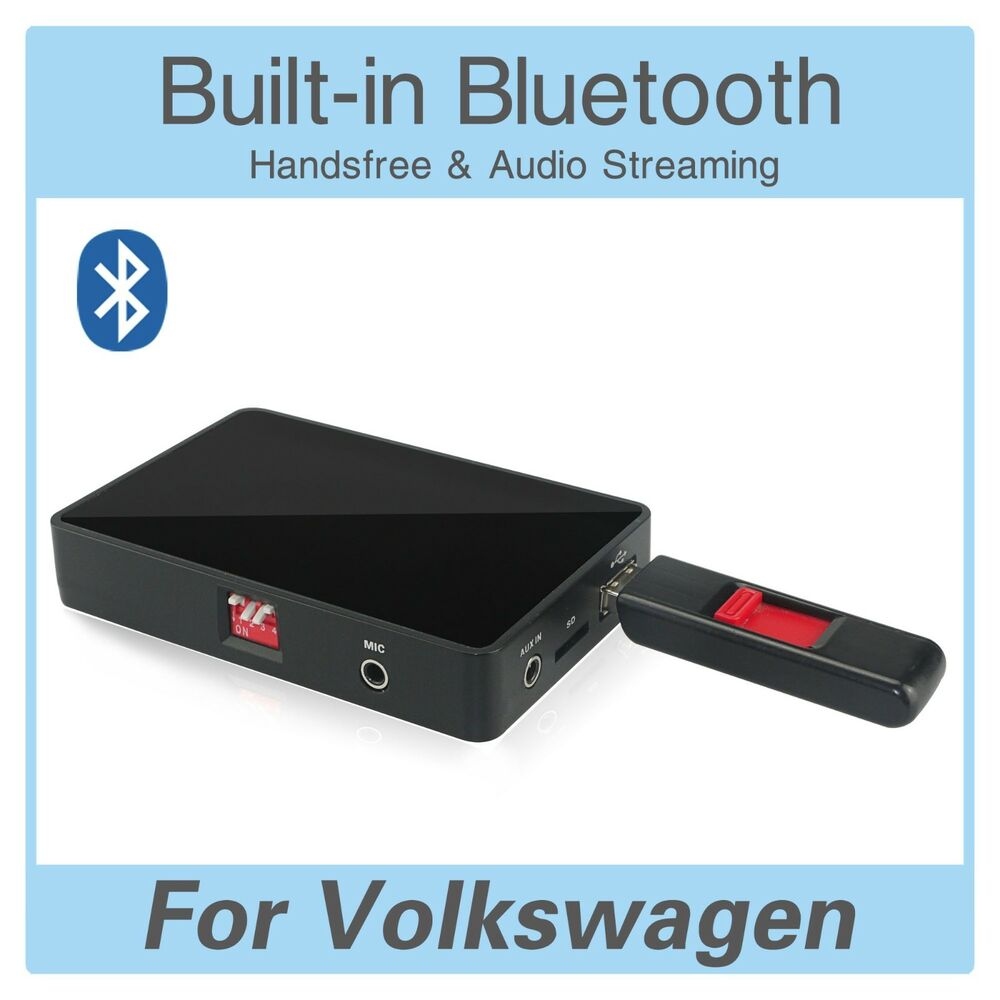 bluetooth usb sd aux adapter vw rcd 200 210 300 310 500. Black Bedroom Furniture Sets. Home Design Ideas