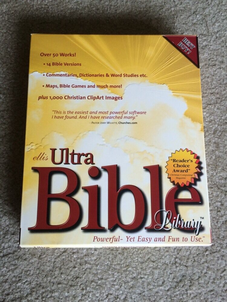 Ellis ultra bible library 6.0 crack