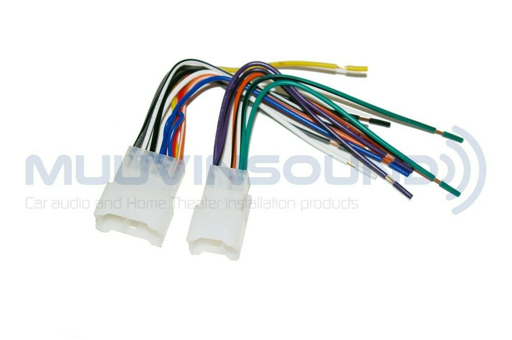 radio wiring wire harness for aftermarket radio stereo installation rap ty 8100 ebay