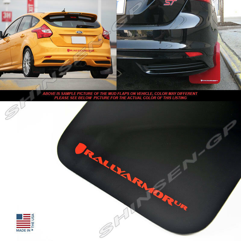 RALLY ARMOR UR MUD FLAPS FOR 2012-2018 FORD FOCUS ST SE
