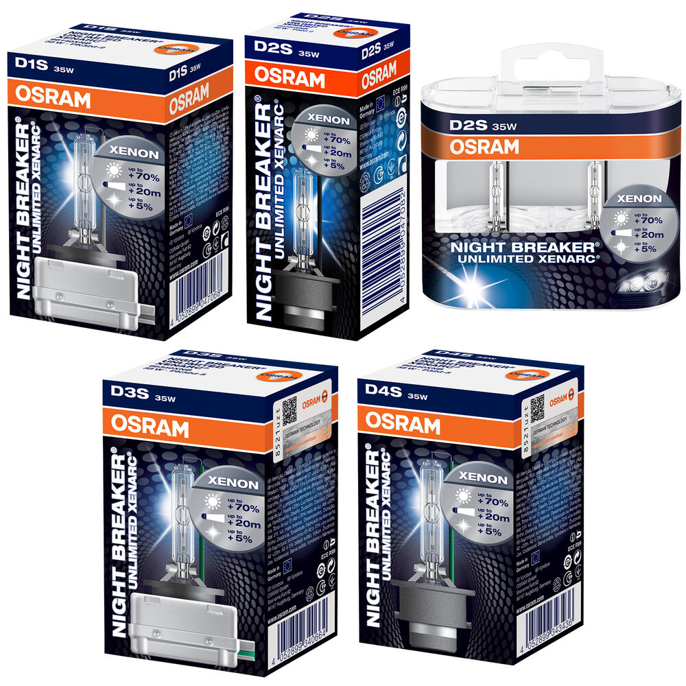 osram xenarc night breaker unlimited 70 more light xenon. Black Bedroom Furniture Sets. Home Design Ideas