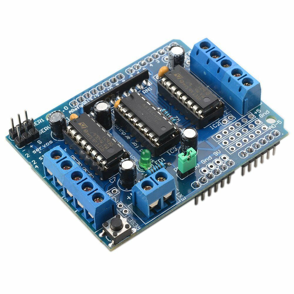 Pcs motor drive shield expansion board l d for arduino