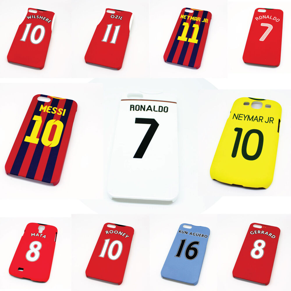 Football Club Shirt Style Phone Cover Cases - Champions Premier Euro ...