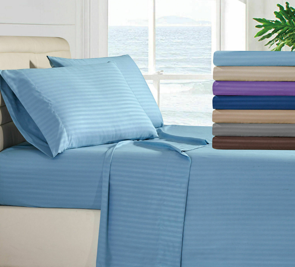 1800 series lux decor collection 4 piece bed sheet set for 1800 beds