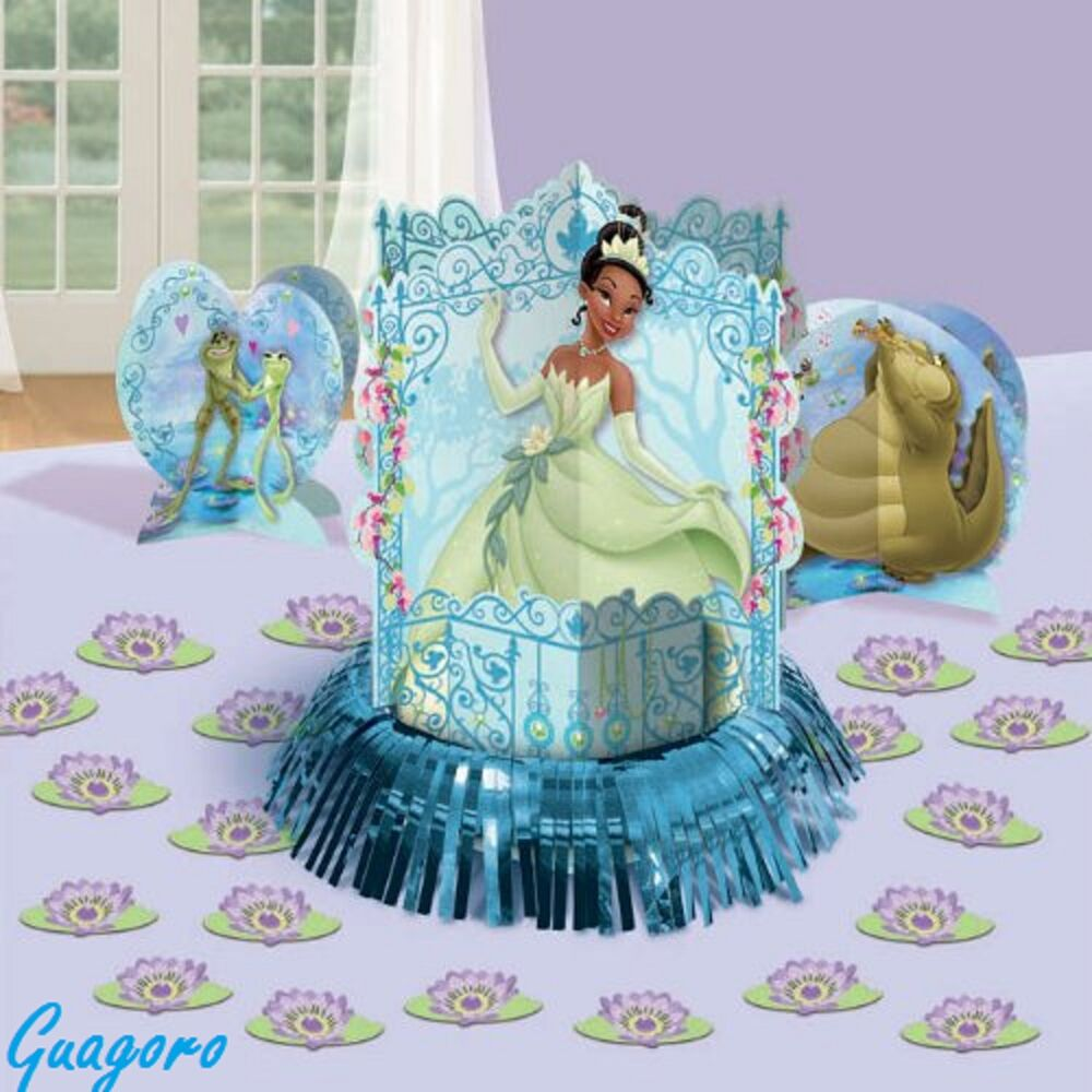 PRINCESS AND THE FROG TIANA Birthday Centerpieces Confetti
